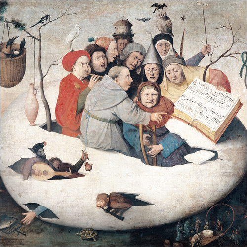 Adesivo murale The Concert in the Egg