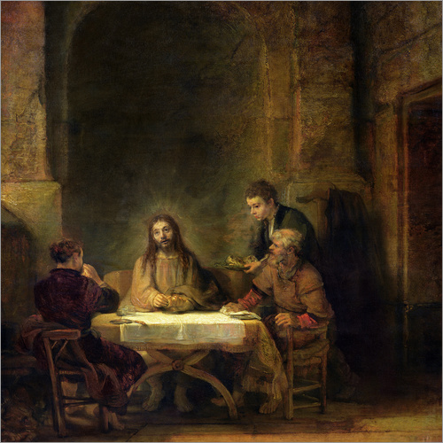Adesivo murale The Supper at Emmaus