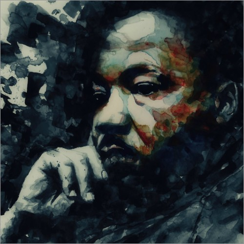 Poster Premium Martin Luther King