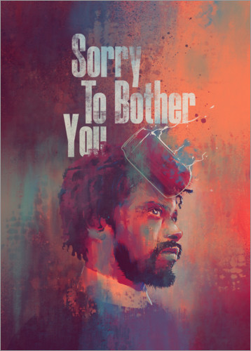 Poster Premium Sorry To Bother You