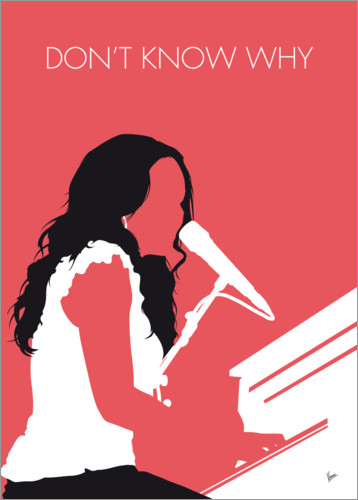 Poster Premium Norah Jones - Don't Know Why