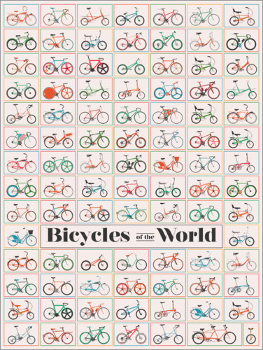 Poster Premium Bicycles of the World