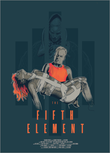 Poster The fifth element