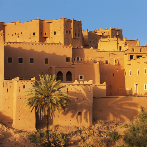 Poster Taourirt Kasbah, Marocco