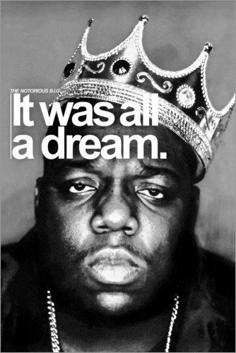 Poster Premium The Notorious B.I.G.