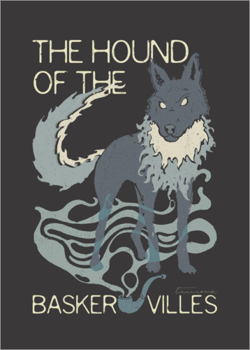 Poster Premium The Hound of the Baskervilles