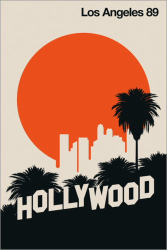 Poster Los Angeles 89