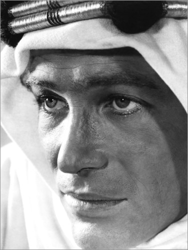 Poster Premium Peter O'Toole - Lawrence d'Arabia