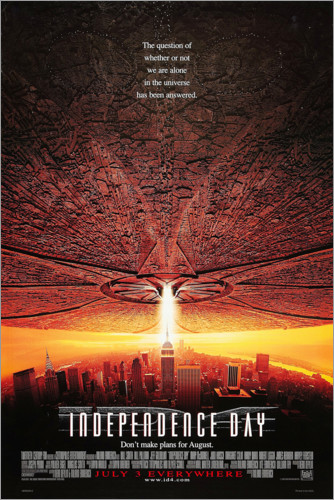 Poster Premium Independence Day