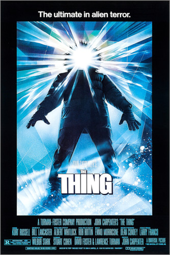 Poster Premium La Cosa (The Thing)
