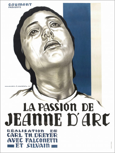 Poster Premium The Passion of Joan of Arc