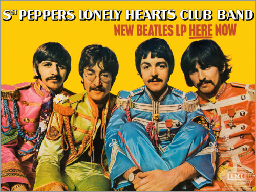 Poster Premium Sgt. Pepper's Lonely Hearts Club Band