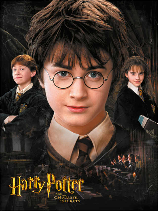 Poster Premium Harry Potter and the Chamber of Secrets