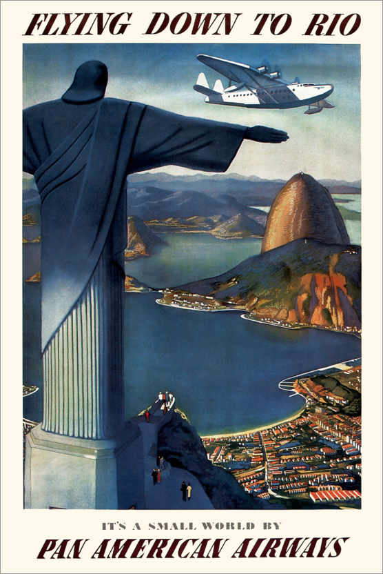 Poster Premium Flying down to Rio