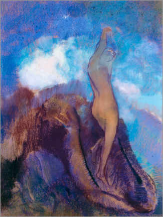 Poster Premium  The Birth of Venus - Odilon Redon