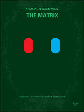 Poster Premium The Matrix