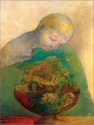 Poster Premium  Shell of becoming - Odilon Redon