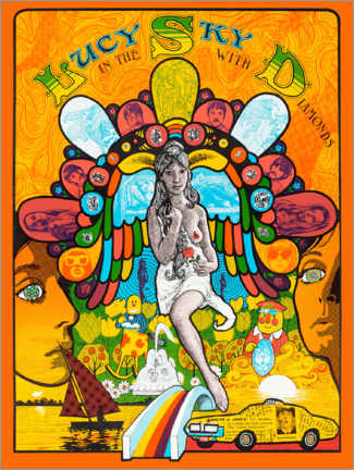 Poster Premium  Lucy In The Sky With Diamonds - Entertainment Collection