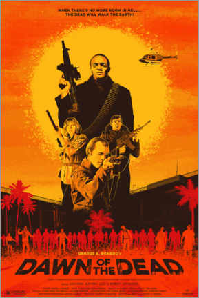 Poster Premium  Dawn of the Dead (Zombi) - Entertainment Collection