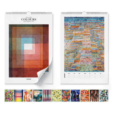 Calendario da muro Paul Klee, Colours 2020