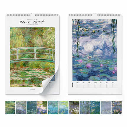 Calendario da muro  Claude Monet, Water Lilies 2021 - Claude Monet