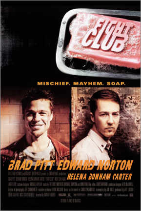 Stampa su alluminio  Fight Club - Entertainment Collection