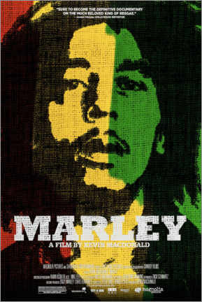 Poster Premium  Marley - Entertainment Collection