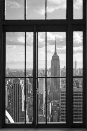 Stampa su tela  Empire State Building a New York City - Jan Christopher Becke