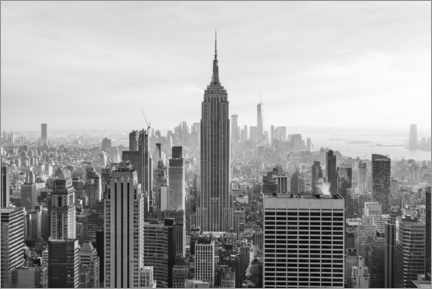 Poster Premium  Empire State Building - Jan Christopher Becke