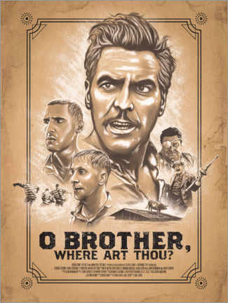 Poster Premium O Brother, Where Art Thou? (Fratello, dove sei?)