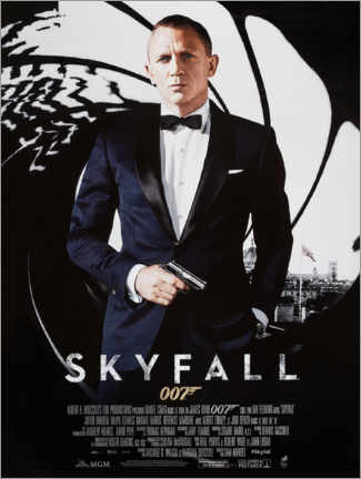 Poster Premium  Skyfall - Entertainment Collection