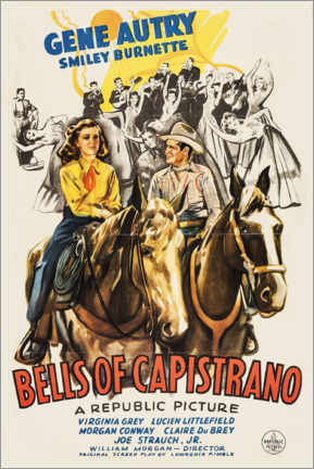 Poster Premium  Bells of Capistrano - Entertainment Collection