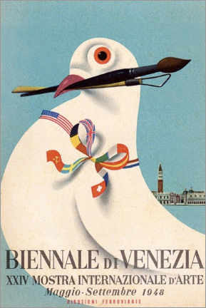 Poster Premium  Biennale di Venezia - Travel Collection