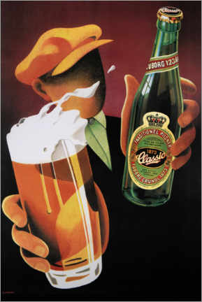 Adesivo murale  Tuborg Classic - Advertising Collection