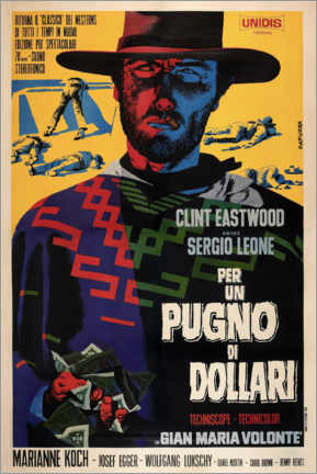 Poster Premium  Per un pugno di dollari - Entertainment Collection