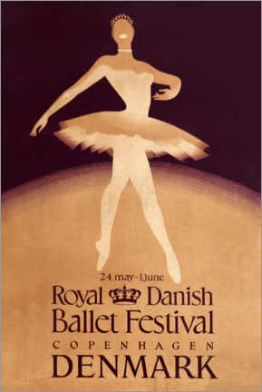 Poster Premium  Royal Danish Ballet Festival - Travel Collection