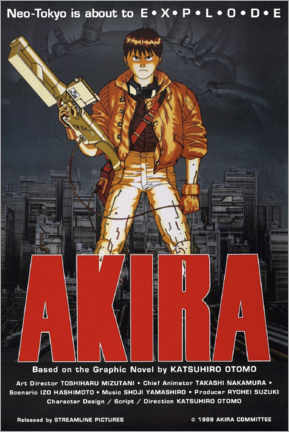 Poster Premium  Akira - Entertainment Collection