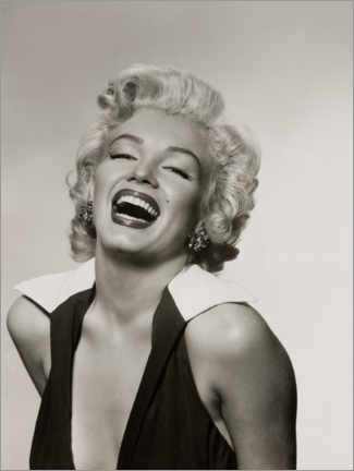 Poster Premium  Marilyn dal sorriso radioso - Celebrity Collection