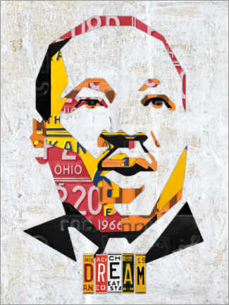 Poster Premium  Martin Luther King - Design Turnpike