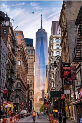 Stampa su alluminio  One World Trade Center a New York - Mike Centioli