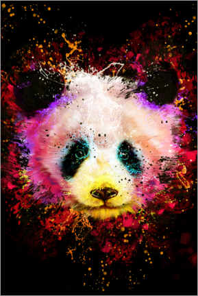 Poster Premium  Panda - Dmitry Belov