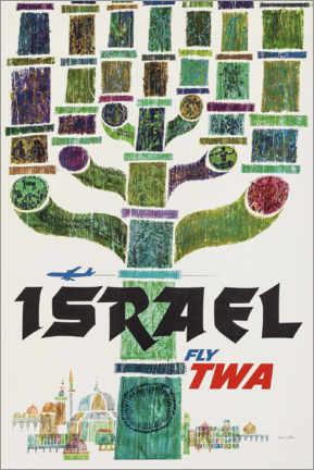 Poster Premium  Israele - Travel Collection