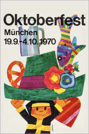 Poster Premium  Oktoberfest 1970 - Travel Collection