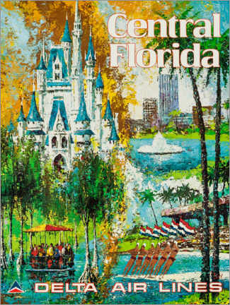 Poster Premium  Central Florida - Travel Collection