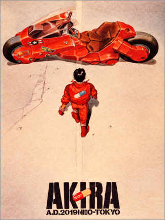 Stampa su vetro acrilico  Akira - Entertainment Collection