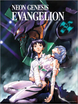 Poster Premium  Neon Genesis Evangelion - Entertainment Collection
