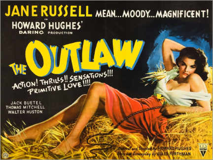 Poster Premium  The Outlaw - Entertainment Collection