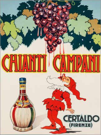Stampa su schiuma dura  Chianti Campani - Advertising Collection