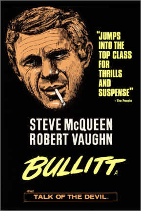 Poster Premium  Bullitt - Entertainment Collection