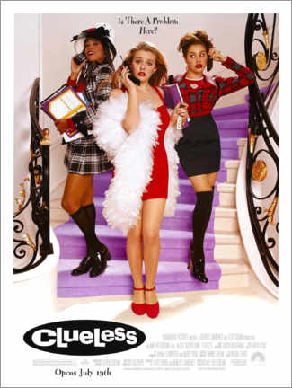 Poster Premium  Clueless (Ragazze a Beverly Hills) - Entertainment Collection